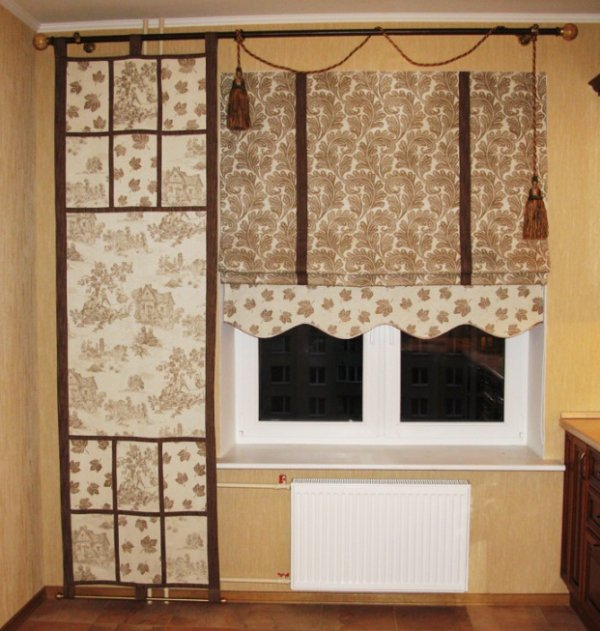Римские шторы 07