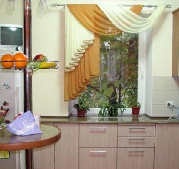 Шторы в кухню 02