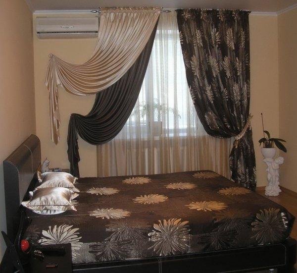 Шторы в спальню 08
